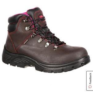 Avenger Steel Toe women's safety boots